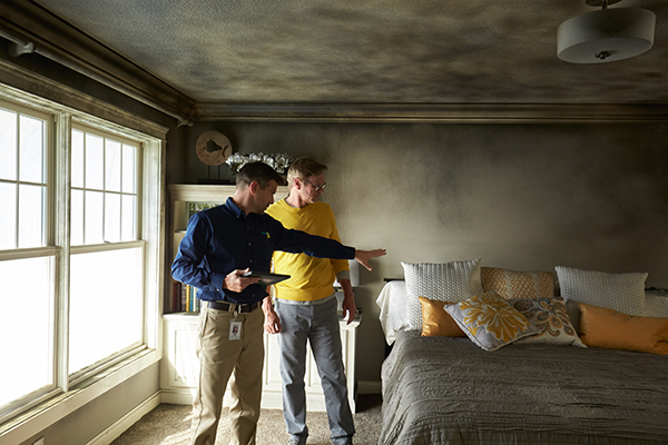 fire and smoke damage cleanup and restoration – Wilmington, MA - ServiceMaster Disaster Associates, Inc.