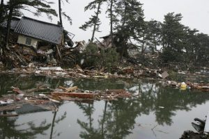 Storm damage and polluted water