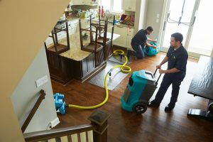Water extraction, water damage restoration and cleanup in Boston, MA by ServiceMaster Disaster Associates, Inc.