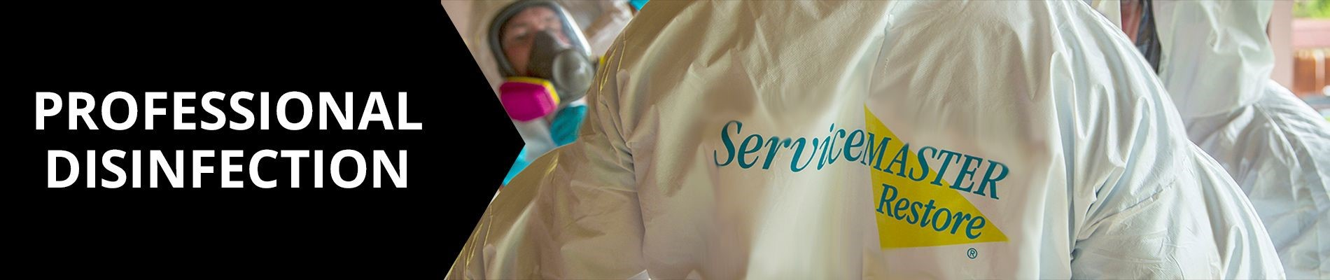 ServiceMaster disinfection banner